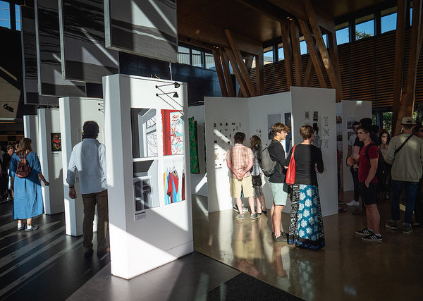 Level 3 Extended Diploma in Art and Design exhibition in HCA hub