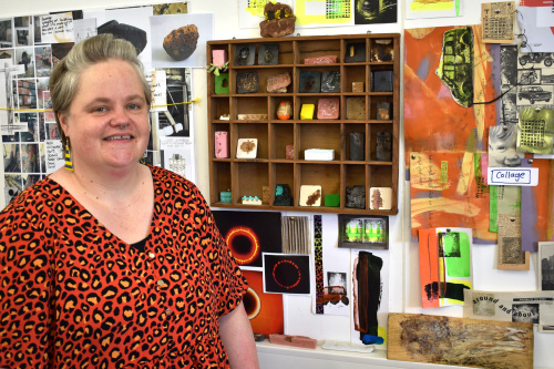 Hereford college expands creative offering as arts students experiment with popular material 2